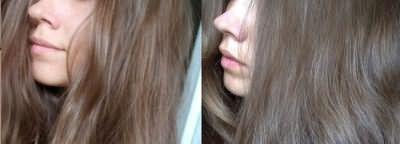 Фото до і після фарбування світлого і темного волосся