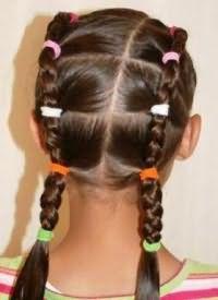 шкільні зачіски 5