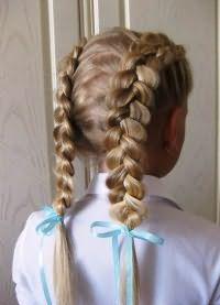 шкільні зачіски 8