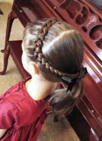 шкільні зачіски 3