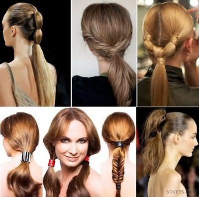 Зачіски для старшокласниць на довге волосся