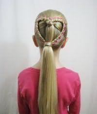 Стильна коса у вигляді серця