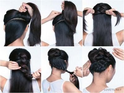 Зачіска в школу своїми руками - покрокова інструкція з фото