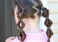 шкільні зачіски для дівчаток на довге волосся 2