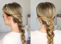 шкільні зачіски для дівчаток на довге волосся 3