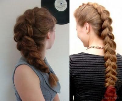 Зачіска Французька коса