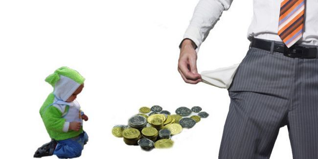 Скільки платять аліменти безробітні?