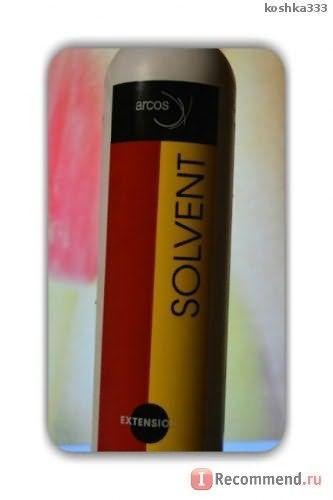 Arcos Solvent засіб для зняття нарощеного волосся фото