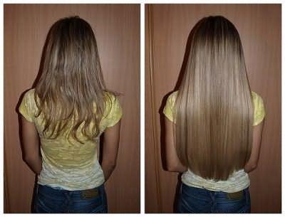 Голлівудське (стрічкове) нарощування волосся