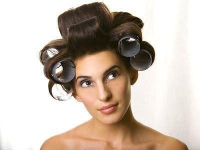 як завити волосся великими локонами