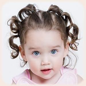 зачіски для дівчаток на середні волосся