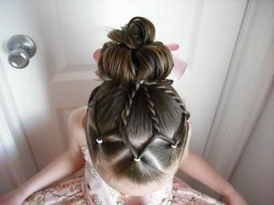 зачіски для дівчаток 2016