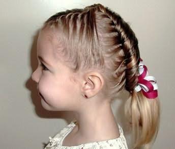 зачіски для дівчаток