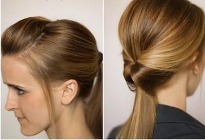зачіска хвіст для дівчинки