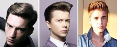 Укладання зачіски канадка в стилі Елвіса