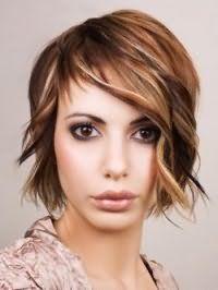 Рвана стрижка з укладкою для довгого волосся