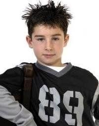 Сучасна зачіска для хлопчика
