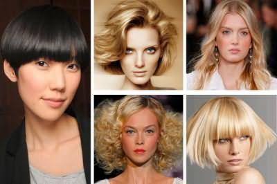 На фото можна побачити, що до різних за формою особам підходять різні зачіски