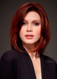 стрижки для обсягу на середні волосся 5