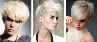 стрижки на коротке волосся 2016 з чубчиком