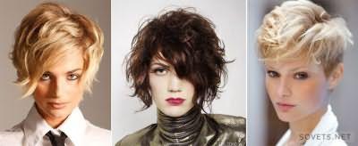 фото: стрижки на коротке волосся в стилі гранж
