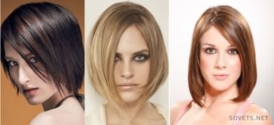 стрижки для короткого волосся - каре