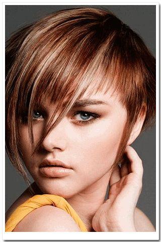 Стрижки для круглого обличчя волосся на потилиці