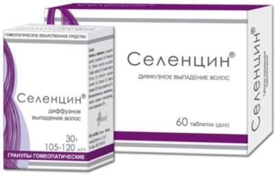 Форма випуску таблеток Селенцін