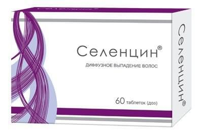 Селенцін - препарат від випадіння волосся