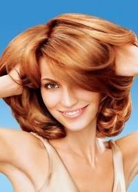 карамельний колір волосся фарба 8