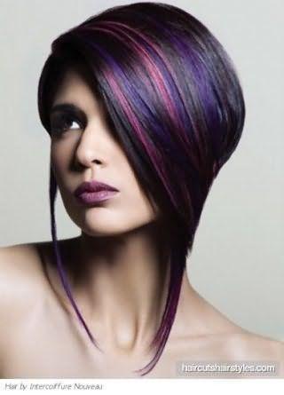 Мелірування на темне довге волосся