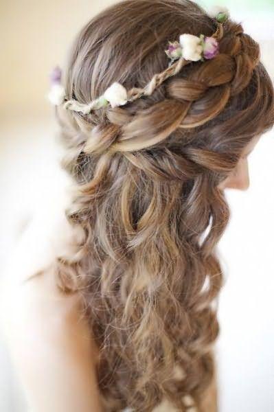 Плетіння кісок на довге волосся фото