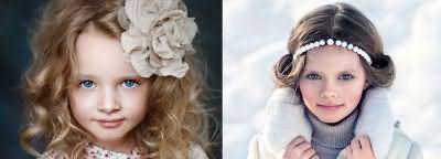 Фото модних дитячих зачісок