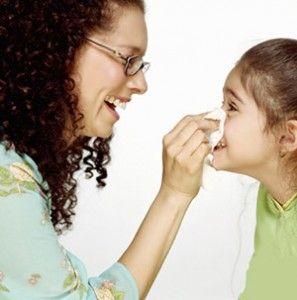 У дитини йде кров з носа - що робити?