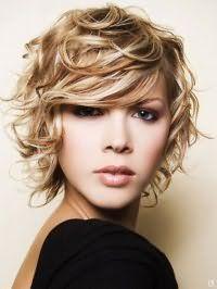 Укладання для коротких кучерявого волосся