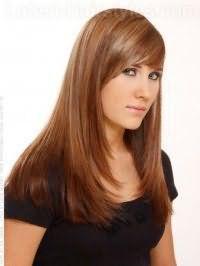 Варіант стрижки на довге волосся, яка не потребує укладання