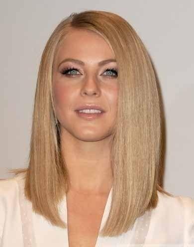 Довге волосся без чубчика фото