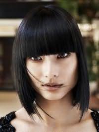 Стрижка каре на довге волосся фото