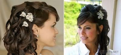 Вечірні зачіски для довгого волосся