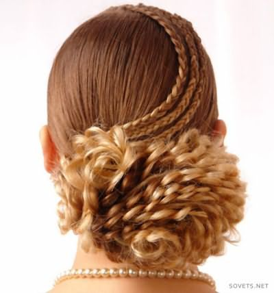 Зачіска з косами