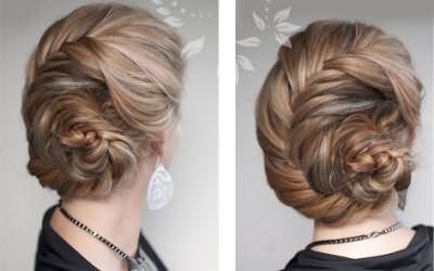 Красиві вечірні зачіски на довге волосся фото