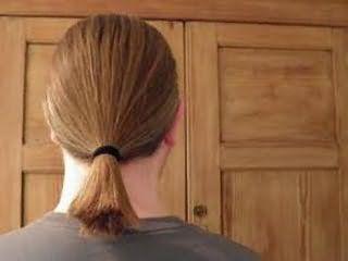 Чоловічі зачіски кінський хвіст