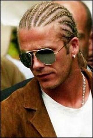 Зачіска чоловіча коса