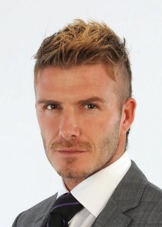 Чоловіча зачіска з мелірування