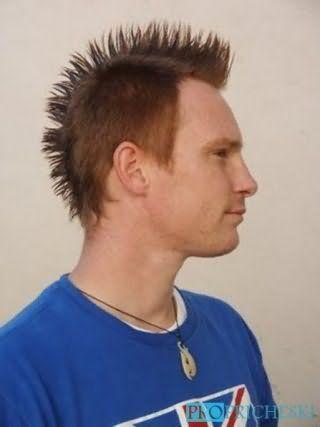 Чоловіча зачіска ірокез