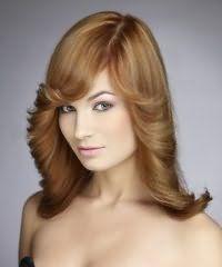 Варіант зачіски для овального обличчя
