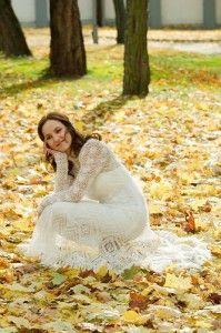В`язані весільні сукні