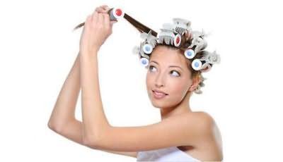 Як накрутити волосся за допомогою бігуді