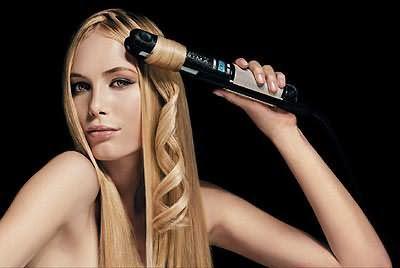 Створюємо хвилі за допомогою прасування для волосся