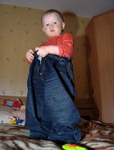 Всім відомо на планеті: джинси дуже люблять діти!